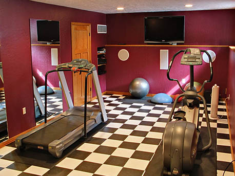 Remodeled Exercise Room