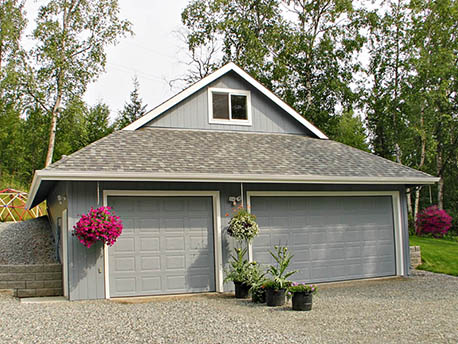 Remodeled Garage