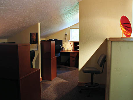 Remodeled Office